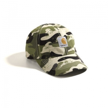 Carhartt Signature Camo Canvas Cap