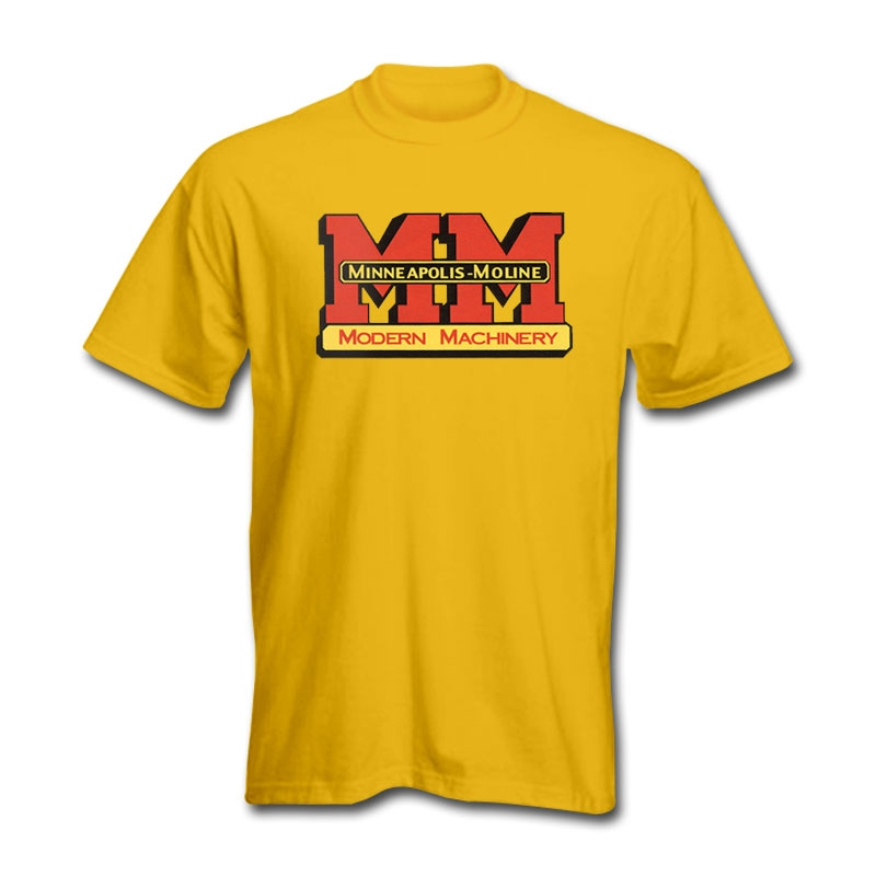 Minneapolis Moline Men's Yellow Logo T-Shirt