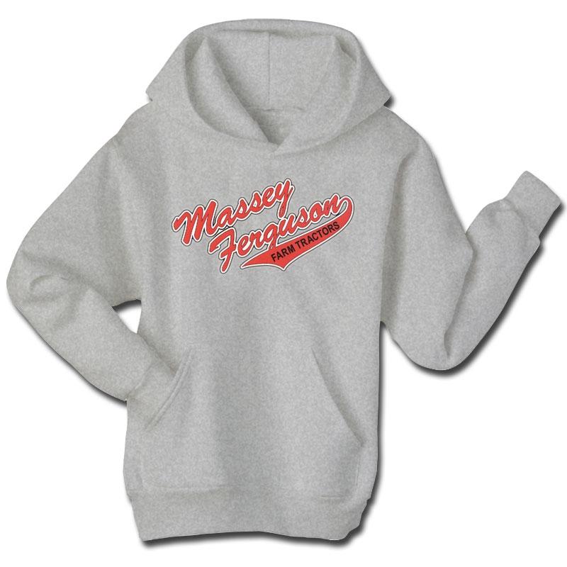 Massey Ferguson Children's Script Tail Logo Hoodie