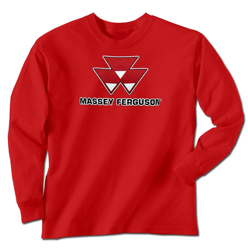 Massey Ferguson Men's Logo Long Sleeve T-Shirt