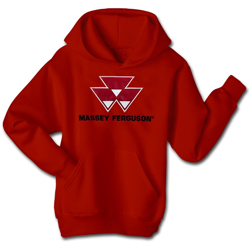 Massey Ferguson Men's Applique Logo Hoodie