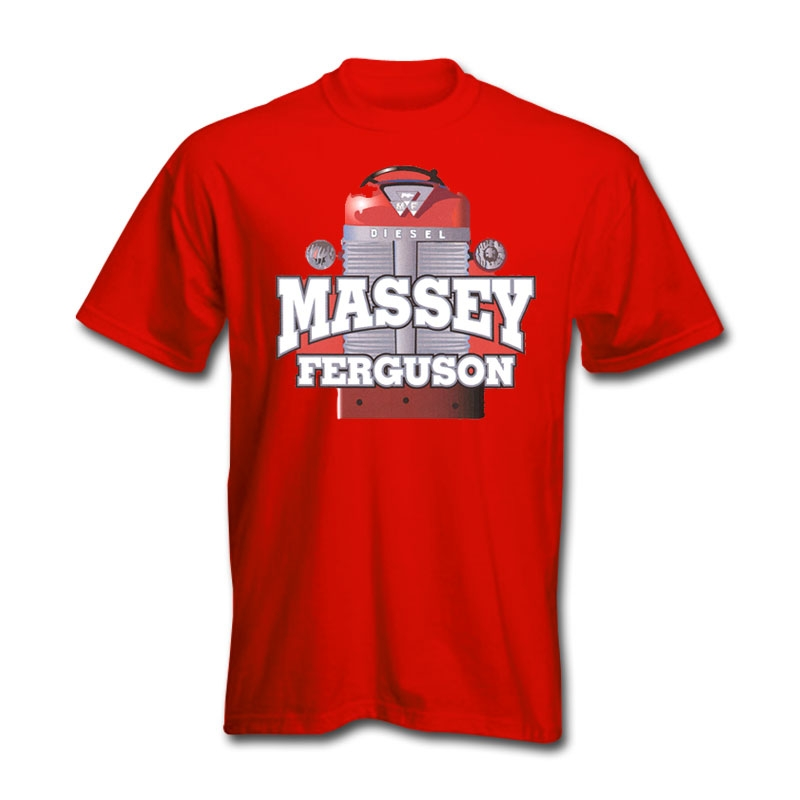 Massey Ferguson Men's Tractor Grill T-Shirt