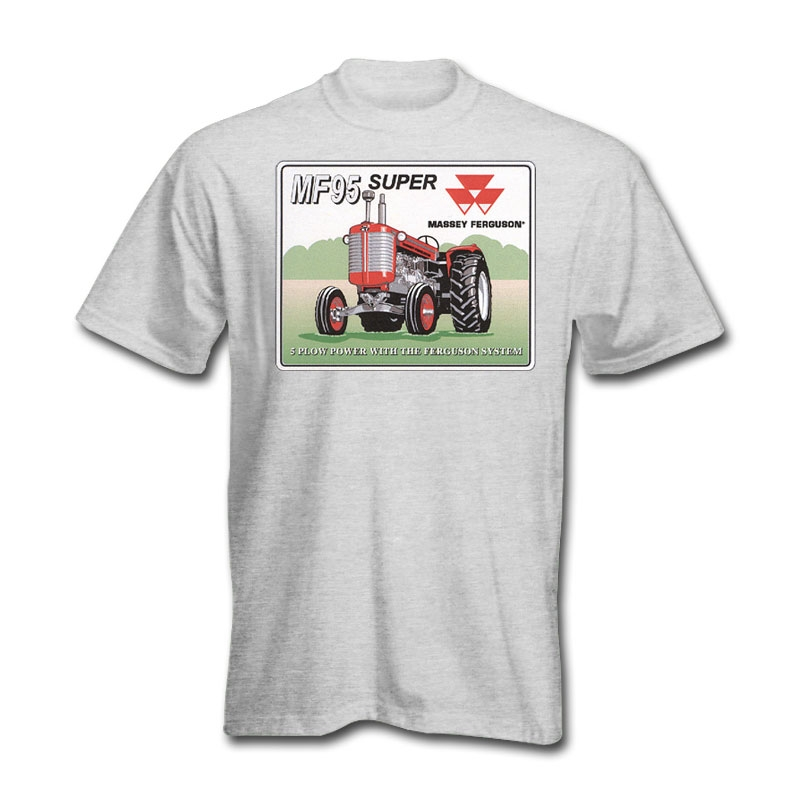 Massey Ferguson Men's Vintage Sign T-Shirt