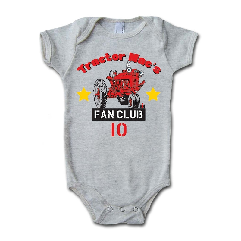 IH Tractor Mac Fan Club Onesie