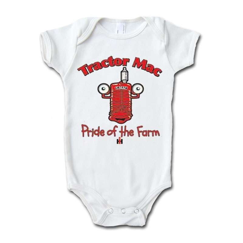 IH Tractor Mac Pride Of The Farm Onesie