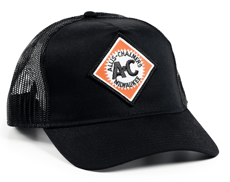 Allis Chalmers Diamond Logo Mesh Trucker Cap