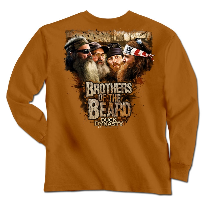 Duck Dynasty Beard Brothers Long Sleeve T-Shirt