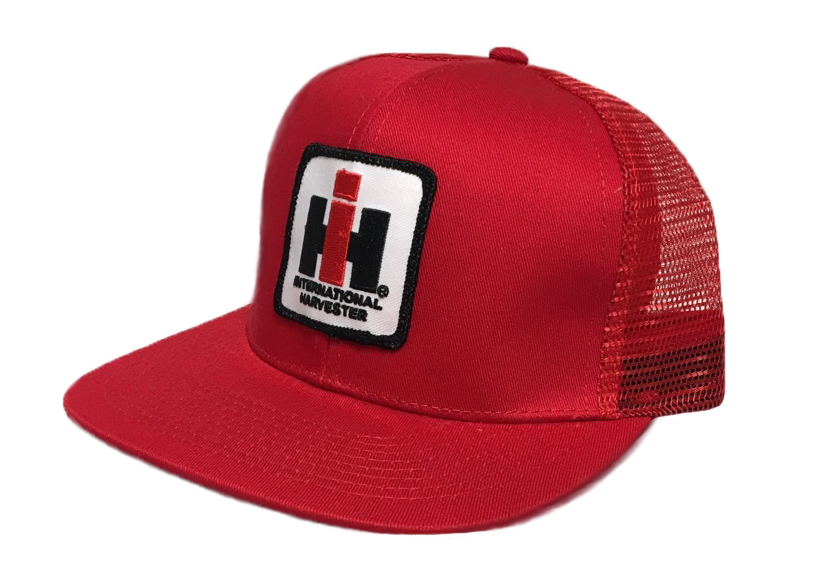 DAMAGED IH Mesh Trucker Cap - Red