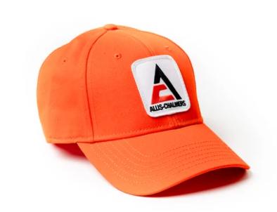 Allis Chalmers Solid Orange Logo Hat