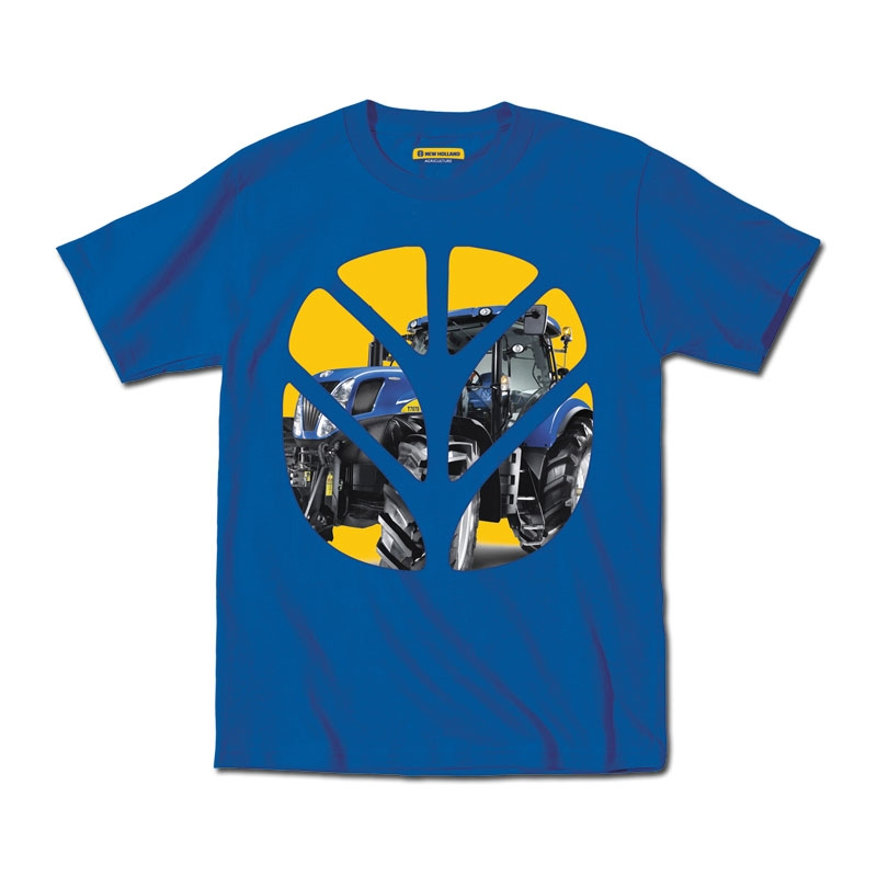 New Holland Tractor In Logo T-Shirt