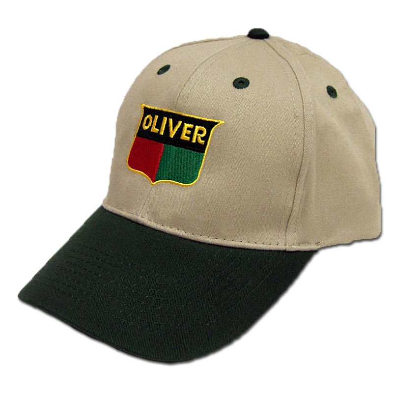 Oliver Embroidered Sign Baseball Cap