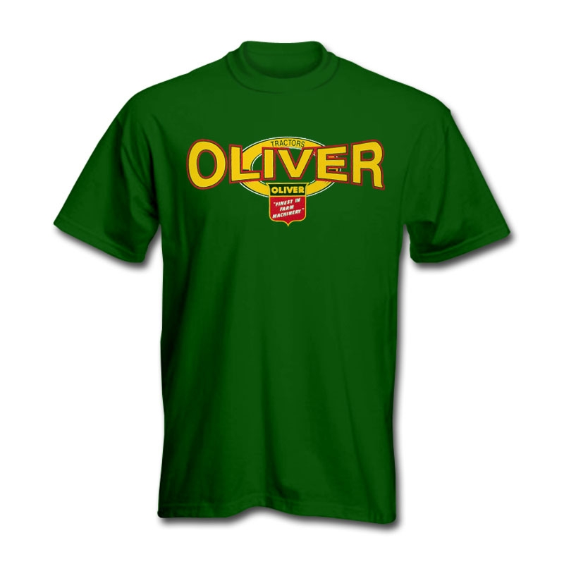Men's Oliver Green Squeezed Logo T-Shirt