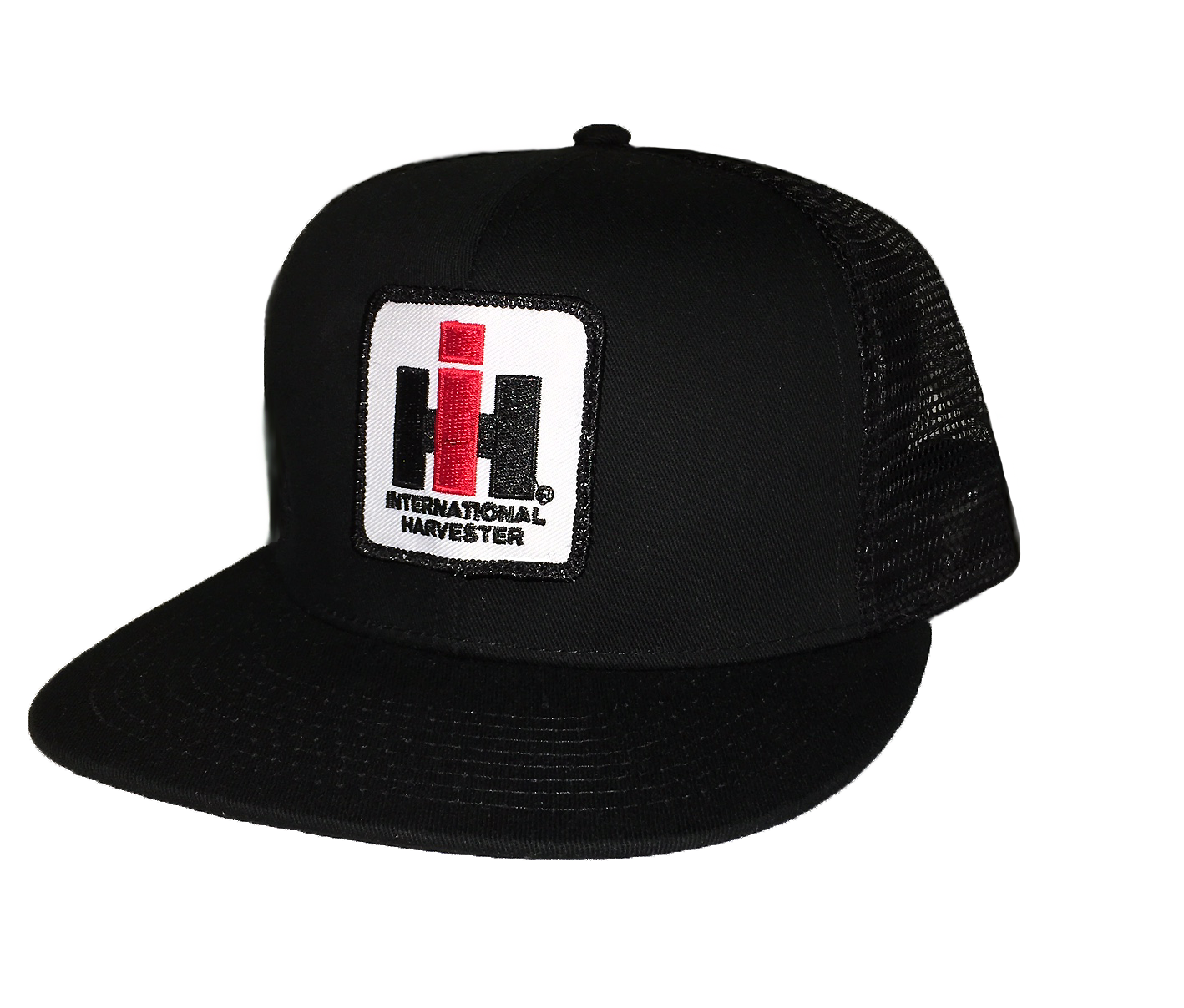 IH Mesh Trucker Cap - Black