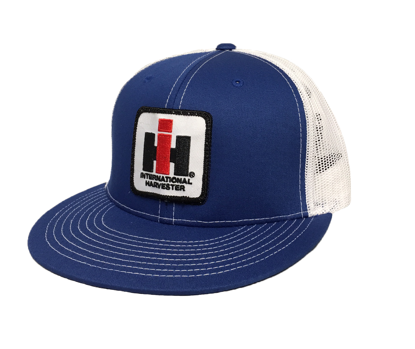 DAMAGED IH Mesh Trucker Cap - Blue