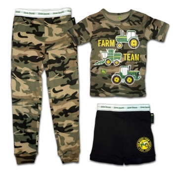 John Deere Farm Team Pajamas Set