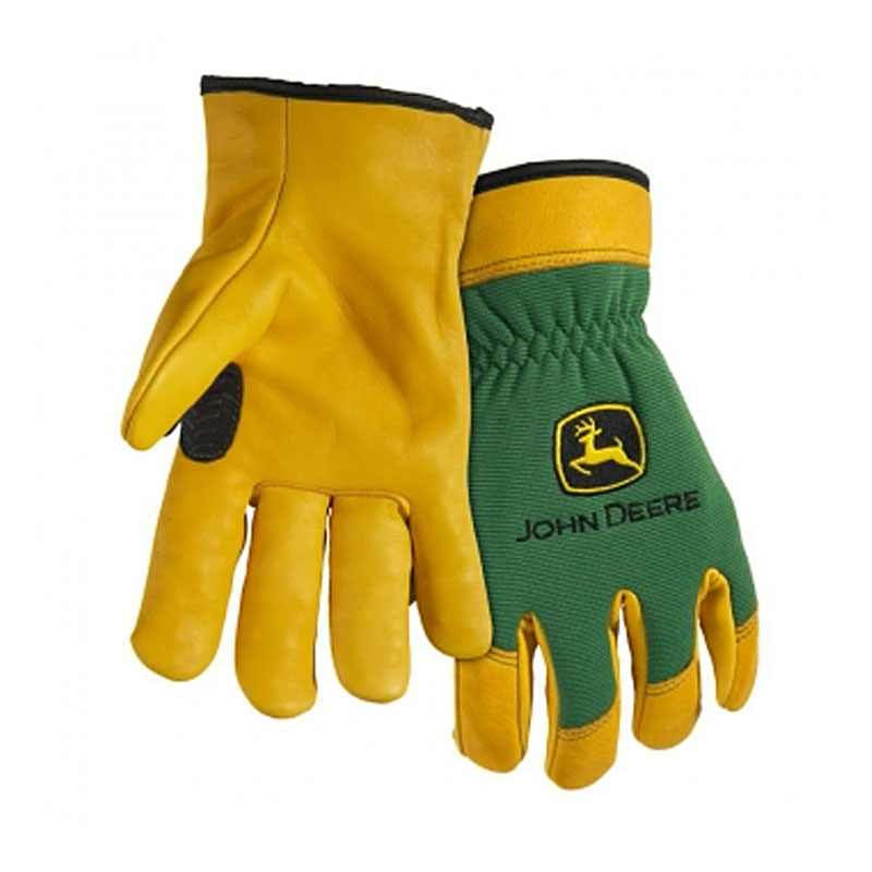 John Deere Grain Deerskin Driver Glove