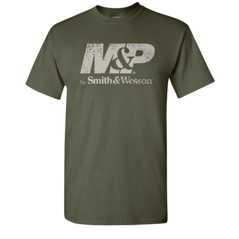 Smith & Wesson M&P Distressed Logo T-Shirt