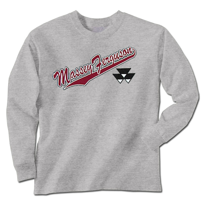 Massey Ferguson Children's Logos Long Sleeve T-Shirt