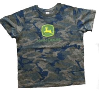 John Deere Children's Camo Logo T-Shirt