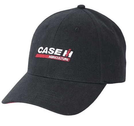 Case IH Washed Black Logo Cap