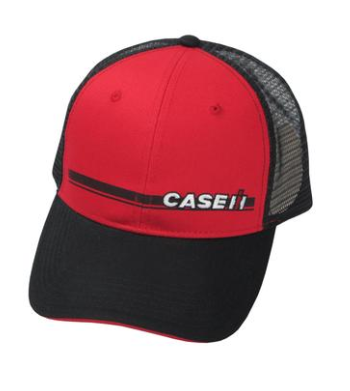 Case IH Red & Black Trucker Cap