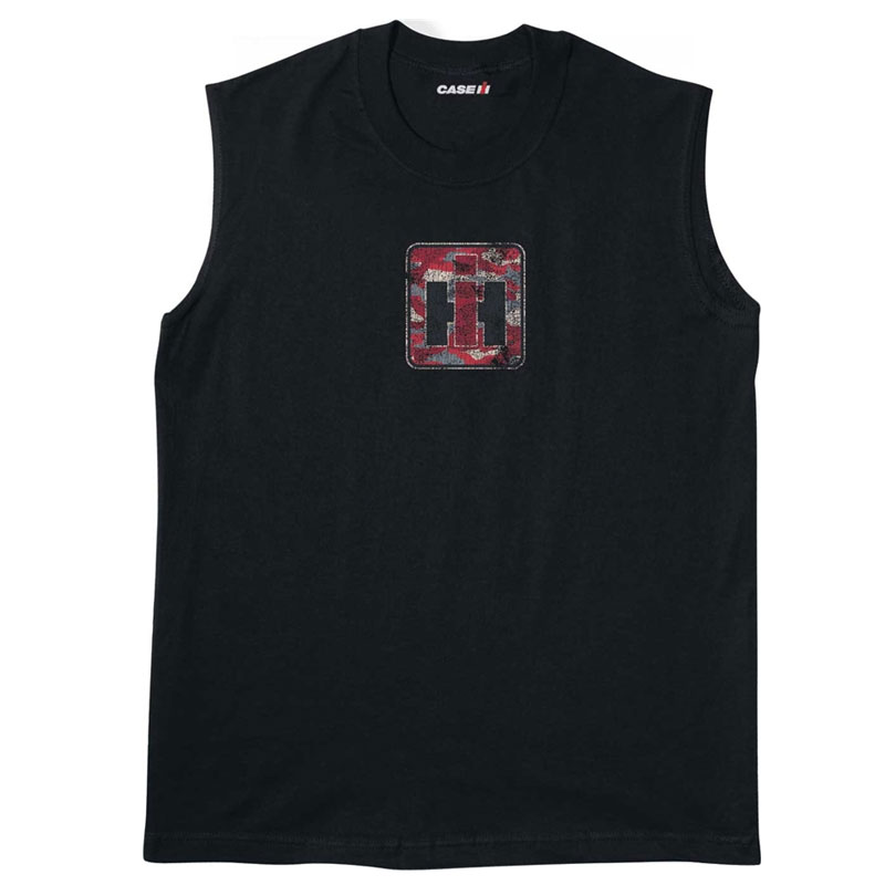IH Red Camo Logo Muscle Shirt