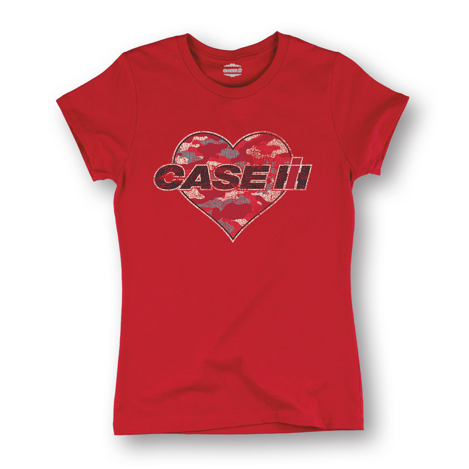Case IH Camo Heart Short Sleeve Tee