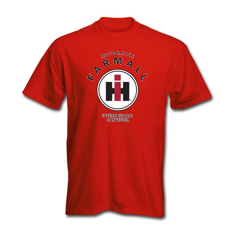 IH Farmall Circle Logo Stack T-Shirt
