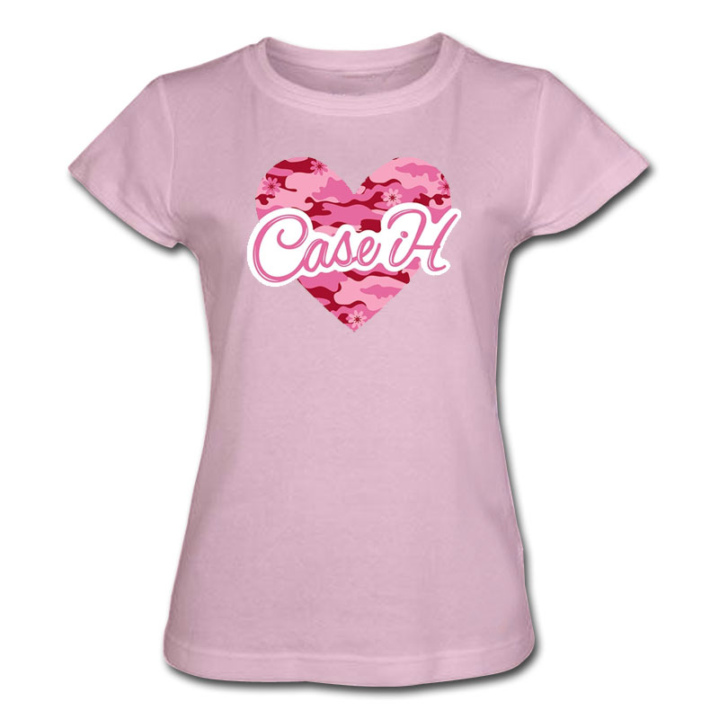 Case IH Camo Heart Script T-Shirt