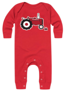 IH Little Tractor Long Sleeve Onesie