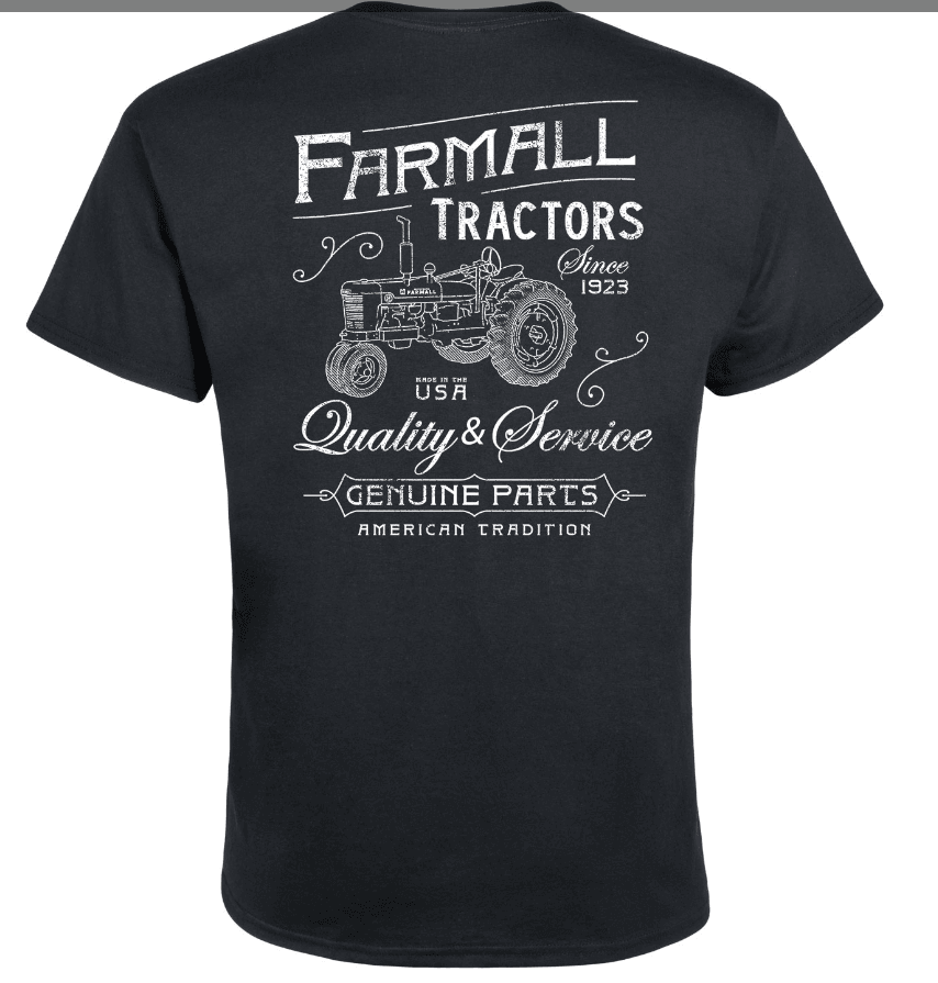 Men's Farmall Tractors Vintage T-Shirt