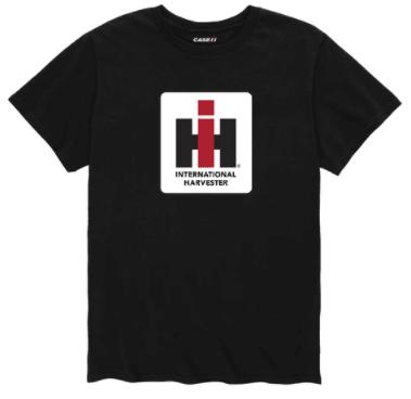 IH Men's Black Logo T-Shirt