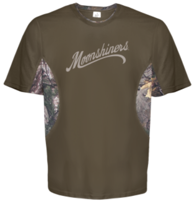 DAMAGED Moonshiners Logo T-Shirt