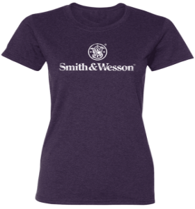 DAMAGED Smith & Wesson Distressed Logo T-Shirt
