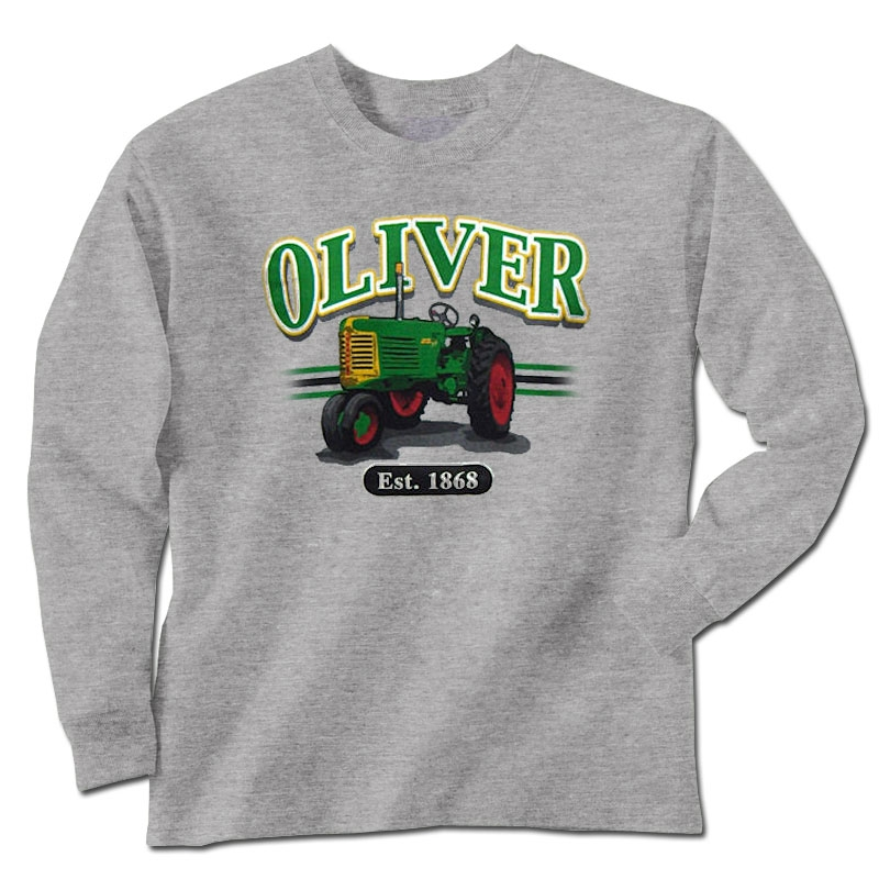 Men's Oliver Est 1868 Long Sleeve T-Shirt
