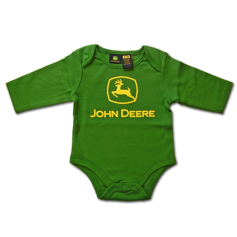 John Deere Long Sleeve Onesie