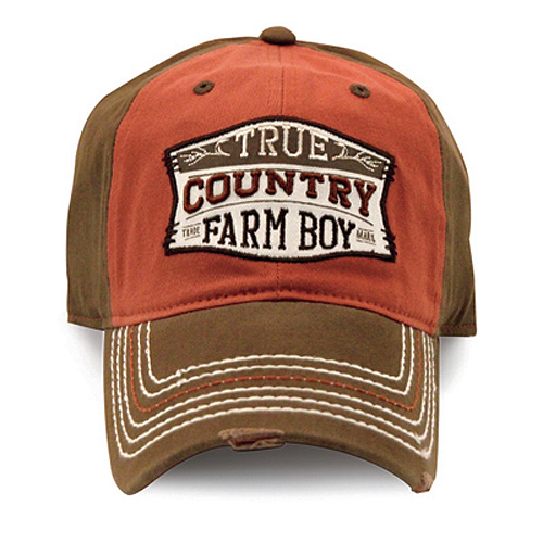 Farm Boy True Country Baseball Cap
