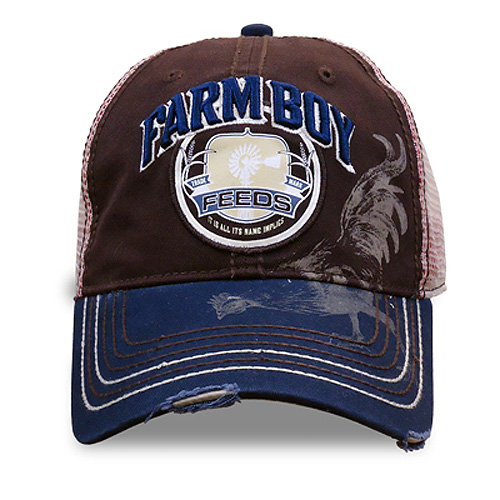 Farm Boy Chicken Feed Baseball Cap