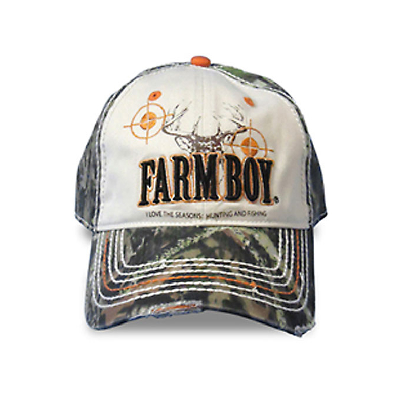 Farm Boy Hunting And Fishing Cap