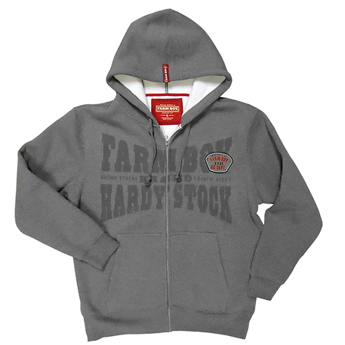 Farm Boy Hardy Stock Zip Up Hoodie