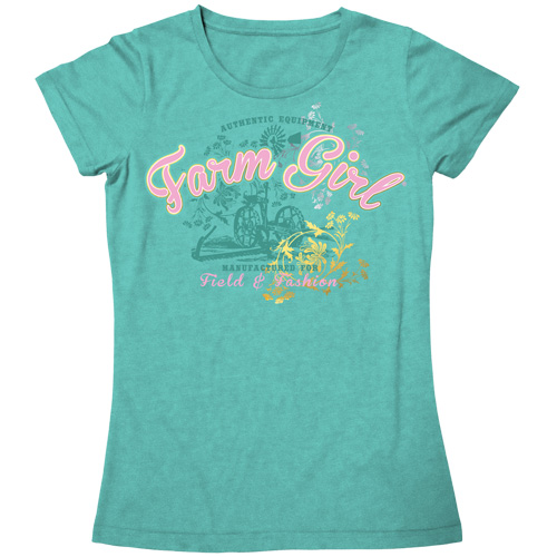 Farm Girl Field and Fashion Tee