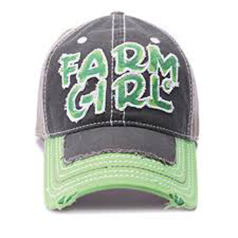 Farm Girl Baseball Cap