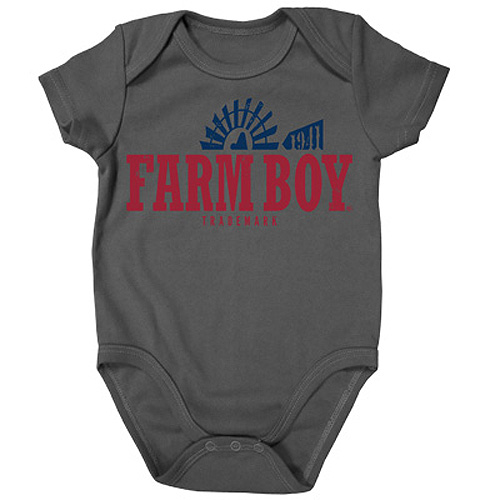 Farm Boy Windmill Onesie