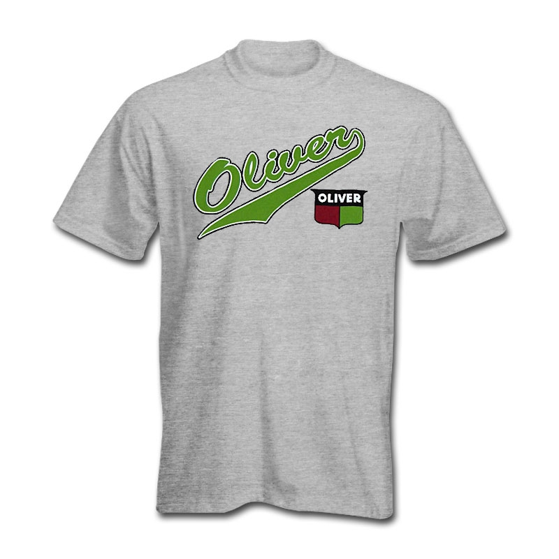 Oliver Children's Crest and Script Tail Logo T-Shirt