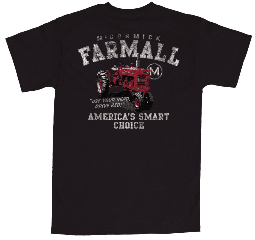 IH Farmall Big & Tall America's Smart Choice Pocket T-Shirt