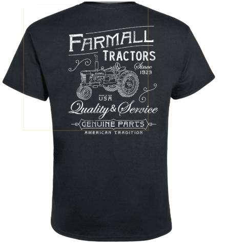 DAMAGED Men's Farmall Tractors Vintage T-Shirt