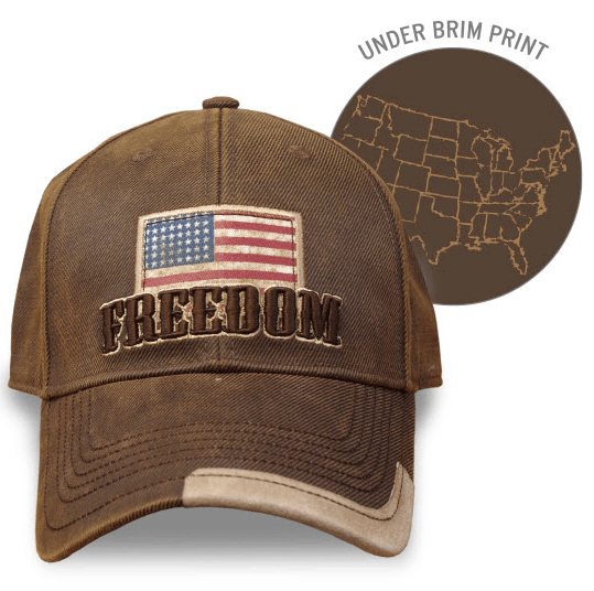 Farm Boy Freedom Oil Skin Cap