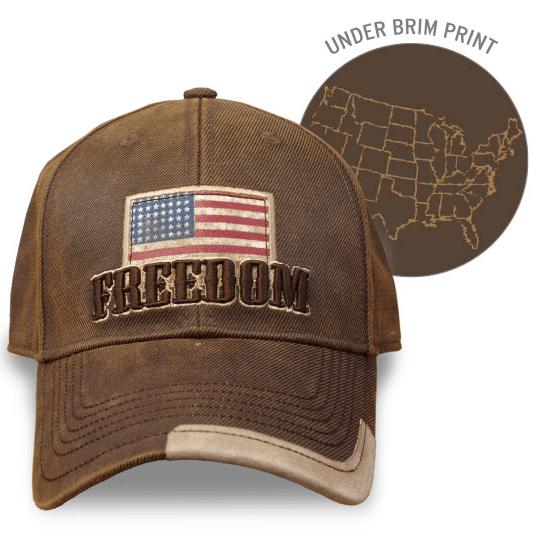 Farm Boy Freedom Oil Skin Cap