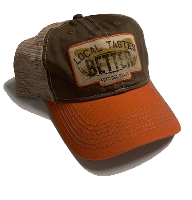 Farm Boy Local Taste Better Mesh Baseball Cap