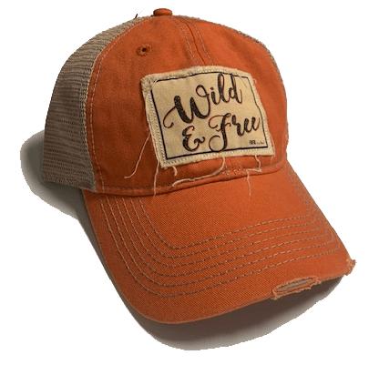 Farm Girl Wild & Free Mesh Baseball Cap